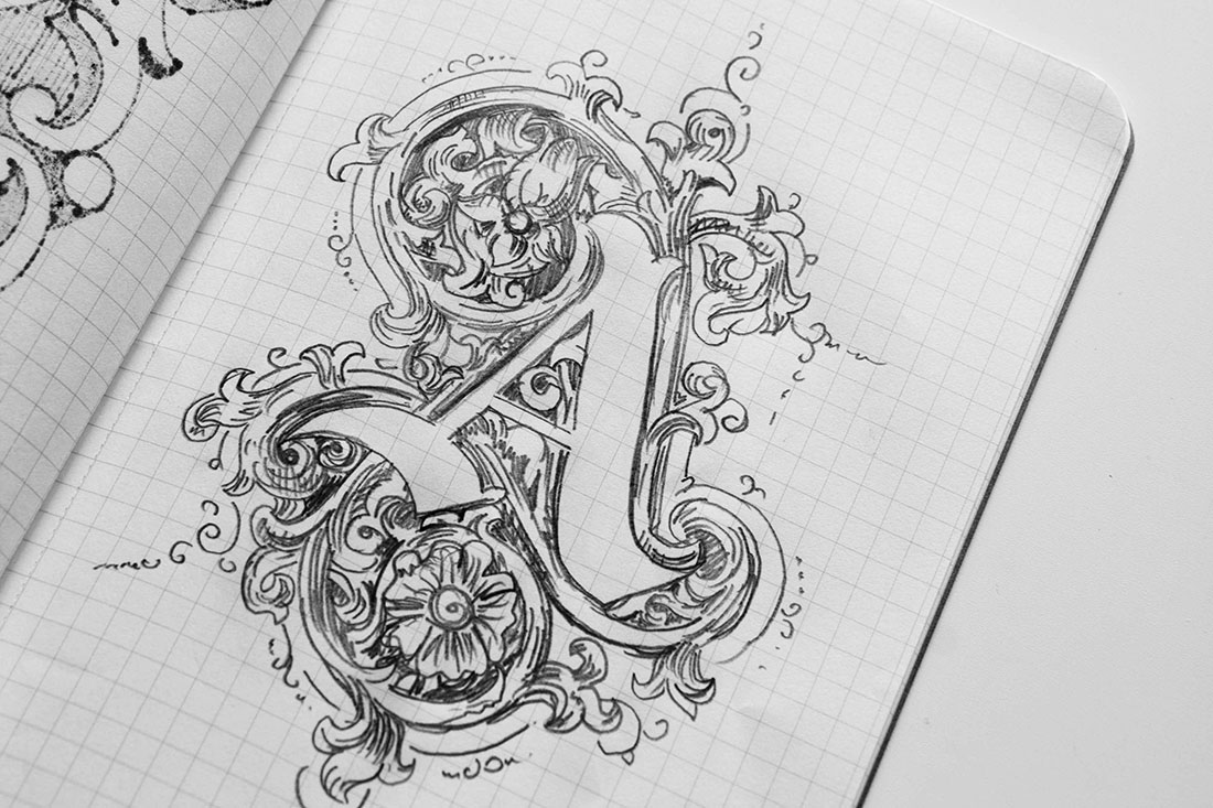 Ornamented Type by Krista Radoeva