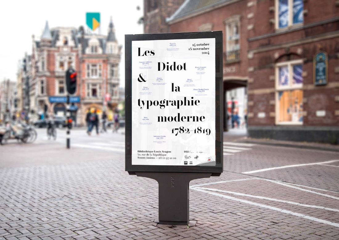 Les Didot Poster by Roxane Gataud