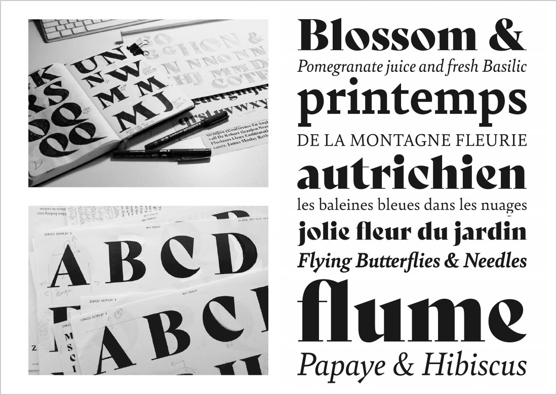 Bely Typeface by Roxane Gataud