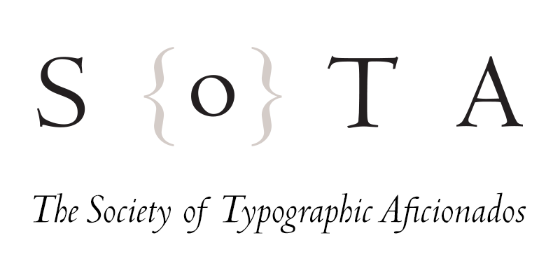 The Society of Typographic Aficionados